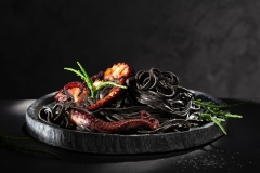 Black Pasta Pulpo
